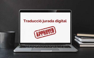 Traducció jurada digital en català: és possible?