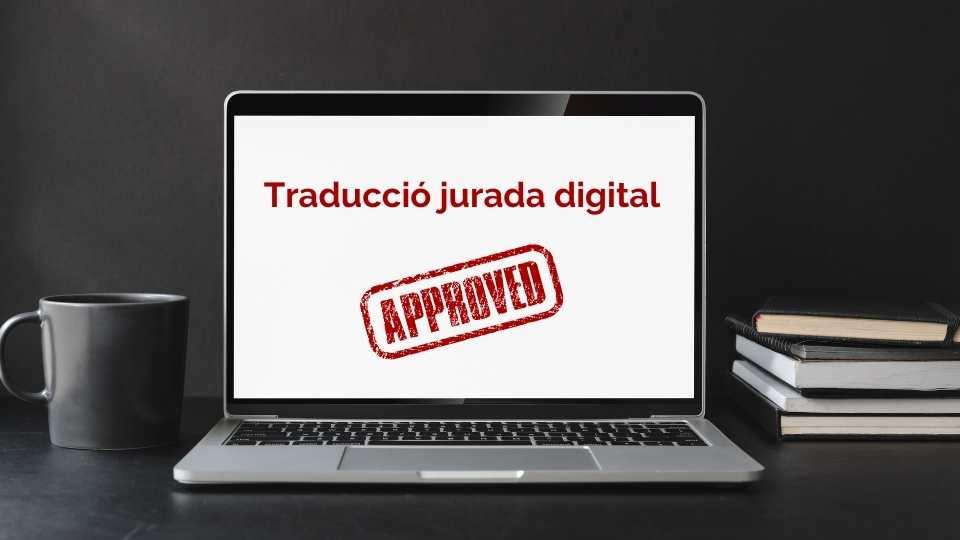traducció jurada digital al català